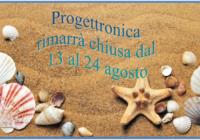 Progettronica ferie