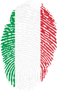 impronta digitale italia