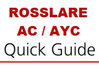 Rosslare AC e AYC