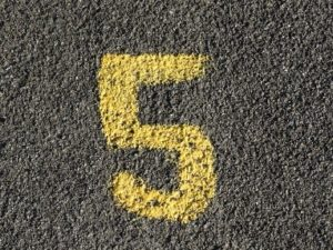 5 errori